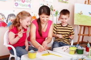 Kinderbetreuung und Kindertagesstätte
