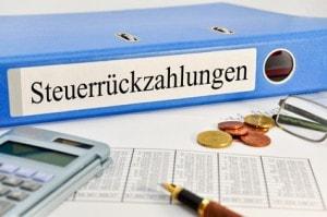 Steuerrueckzahlung und Steuererklaerung