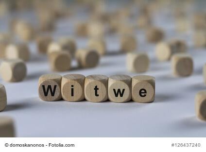 große Witwenrente und kleine Witwenrente
