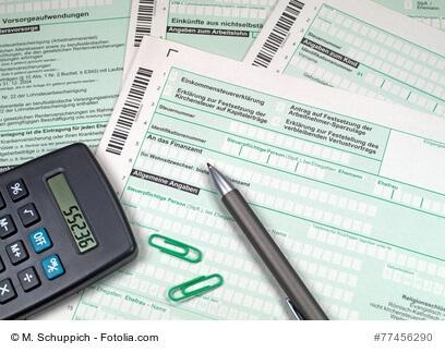 Lohnsteuererklärung und Einkommenssteuererklärung