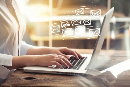 Geschäftsmail und E-Mail-Versand