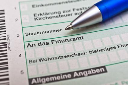 Finanzamt und Steuererklärung