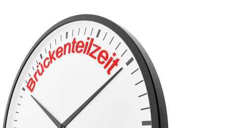 Teilzeit und Arbeitszeitmodell