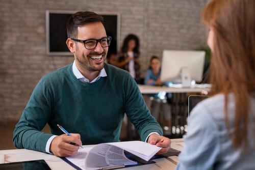 Ausbildung und Bewerbungsgespräch