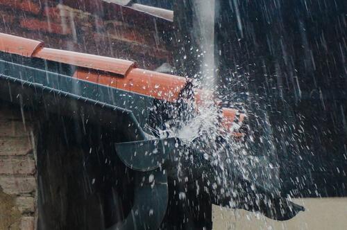 Unwetter und Naturkatastrophe